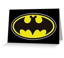 Batman Bat Mickey Greeting Card