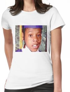 Young Jay Z Womens Fitted T-Shirt