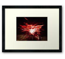 Rise Phoenix Framed Print