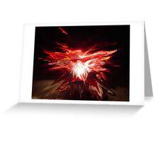 Rise Phoenix Greeting Card