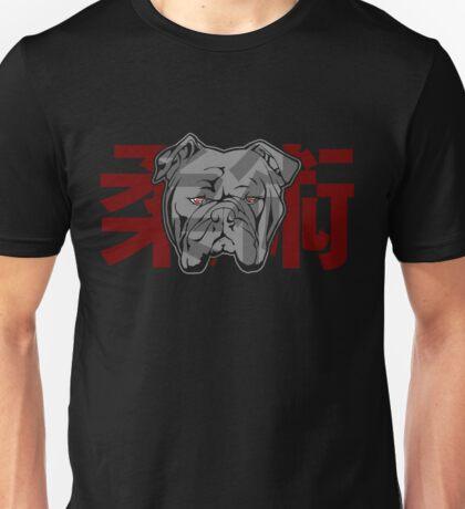Jiu Jitsu Bulldog (transparent) Unisex T-Shirt