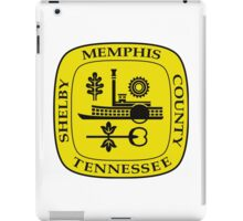 Seal of Memphis iPad Case/Skin
