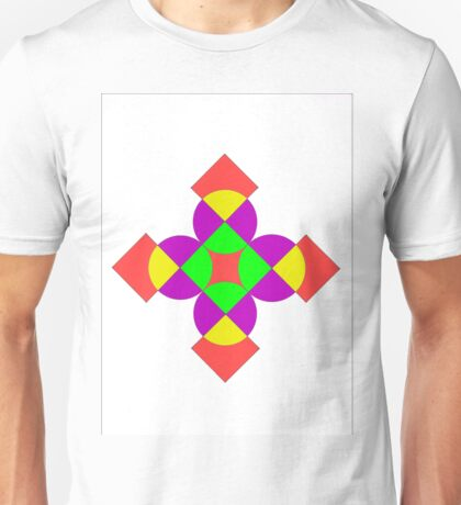 SQUARES AND CIRCLES Unisex T-Shirt