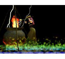 burning burning burning Photographic Print