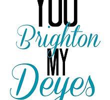 You Brighton My Deyes - Alfie Deyes/Zoe Sugg by chloeambercat