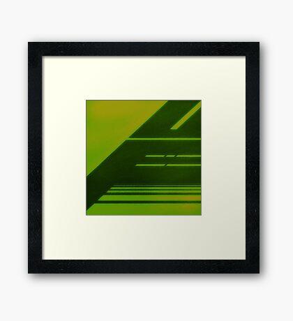 RADIATION / LCD Framed Print