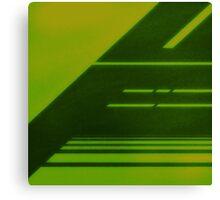 RADIATION / LCD Canvas Print