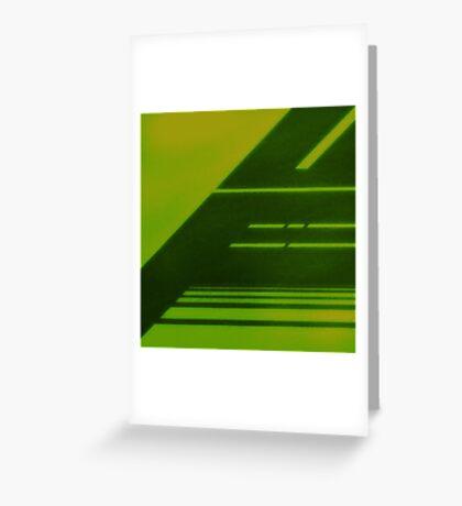 RADIATION / LCD Greeting Card