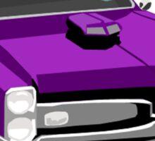 1968 Pontiac GTO Sticker