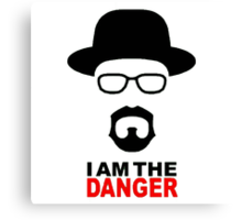 Breaking Bad- I am the danger Canvas Print