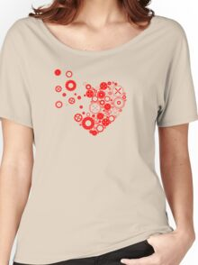My heart is exploding Women's Relaxed Fit T-Shirt