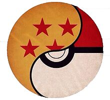 Dragonball-pokeball by Morgan Green