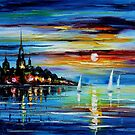 I Saw A Dream — Buy Now Link - www.etsy.com/listing/202726522 by Leonid  Afremov