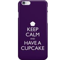 Keep Calm and Have a Cupcake iPhone Case/Skin