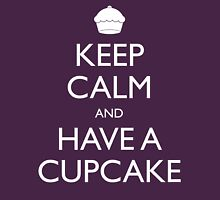 Keep Calm and Have a Cupcake Womens Fitted T-Shirt