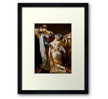 Merry-Joseph Blondel - Hecuba and Polyxena Framed Print