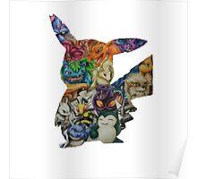 Pokemon Drawing Poster