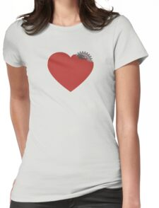 My heart is broken... or not? :) Womens Fitted T-Shirt