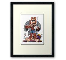 Bigfoot Lebowski Framed Print