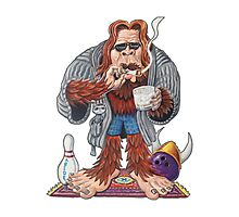 Bigfoot Lebowski Photographic Print
