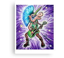 Punk Unicorn Canvas Print
