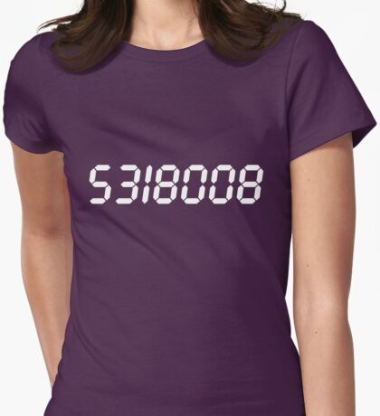 5318008 - White Womens Fitted T-Shirt