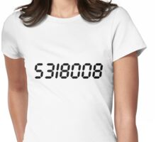5318008 - Black  Womens Fitted T-Shirt