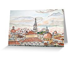 Firenze from the Boboli Gardens Greeting Card