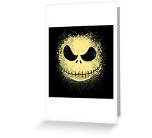jack in the night Greeting Card