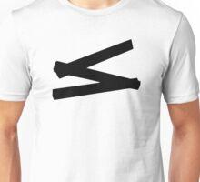 Folding rule yardstick Unisex T-Shirt