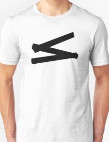 Folding rule yardstick T-Shirt