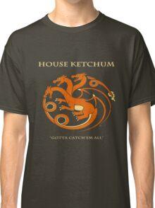 House Ketchum - Gotta Catchem' All Pokemon Game of Thrones Crossover Classic T-Shirt