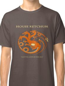 House Ketchum - Gotta Catchem' All Pokemon Game of Thrones Crossover Classic T-Shirt
