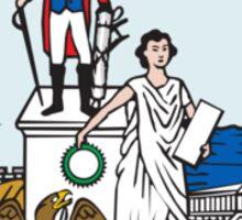 Seal of Washington DC Sticker