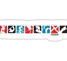 Sport Strip I Sticker