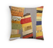 Something to Say to This World  Throw Pillow