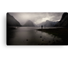 End of the Pilgrimage  Canvas Print