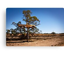 Outback Advertising Canvas Print
