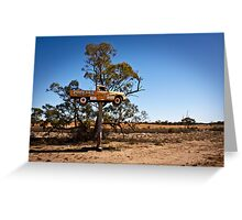 Outback Advertising Greeting Card