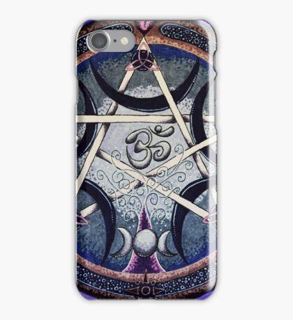 Symbolic Mandala celebrating all that is iPhone Case/Skin