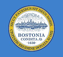 Flag of Boston  by abbeyz71
