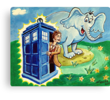 Horton hears a Dr. Who Canvas Print