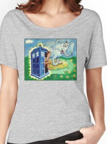 Horton hears a Dr. Who Women's Relaxed Fit T-Shirt