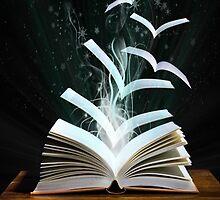 Magic Emitting Book by Nerd-Girl44