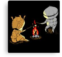 Bonfire Buddies Canvas Print