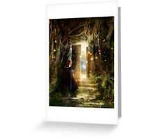 """A Knock at the Door"" - Illustration Greeting Card"