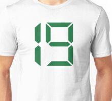 Number 19 nineteen Unisex T-Shirt