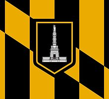 Flag of Baltimore by abbeyz71