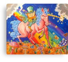 Blarney the Stoned Leprachaun Canvas Print