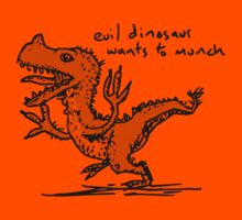 Evil Dinosaur Wants to Munch Kids Clothes